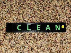 Clean Dirty Sign for Dishes