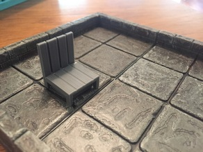 Playable Tabletop Tavern Chair