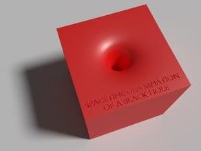 Black Hole Spacetime Deformation