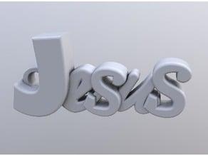 Jesus keychain (no accent mark)