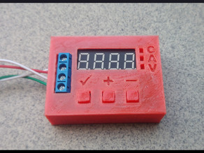 Battery tester (ZB2L3) case with buttons