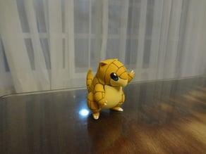 Sandshrew Pokemon EDLI3D
