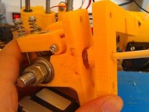 Parametric Wade's extuder bowden adapter
