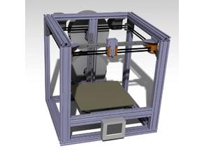 Giny Mk2 coreXY (HEVO / forkLIFT MOD) 2040 open frame / XYZ rail system