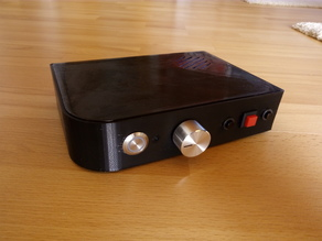 Raspberry Pi advanced music player case