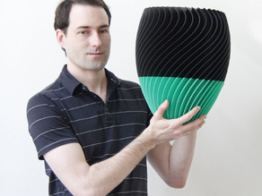 Parametric Twist Vase - With Video Tutorial