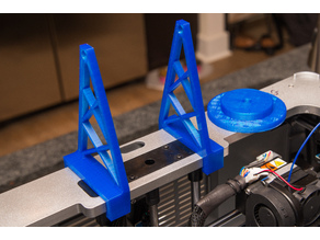Dremel 3D20 filament spool holder