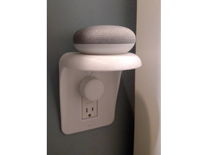 Smart Home Outlet Shelf