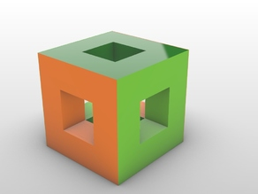 perfect puzzle cube