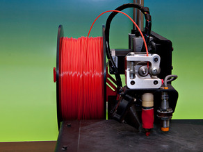 Simple Spool Holder for Printrbot Metal