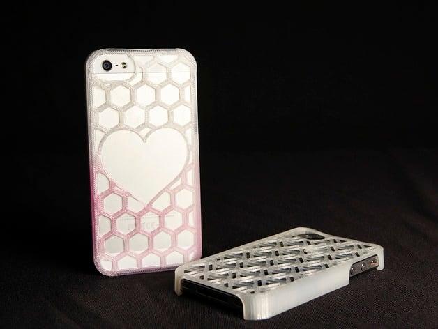Improved Customizable Phone Case by thingiverse - Thingiverse