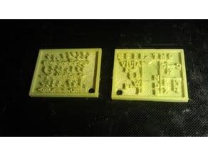 Morse code keychain - FDM remix
