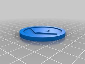 Ethereum Digital Coin 40x3mm v2