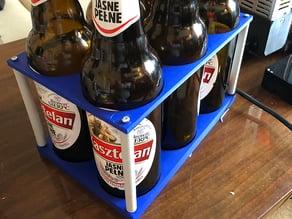 Fridge beer bottles/cans organizer