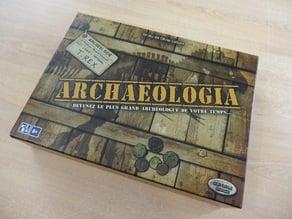 """Nouveau rangements pour le jeu de société """"Archaeologia"""""""