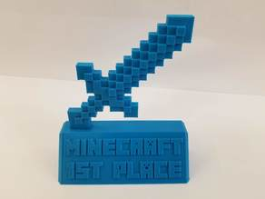 Minecraft Trophy Sword