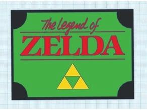 Legend of Zelda Plaque