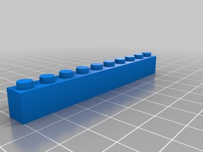 Thin 10 block Lego