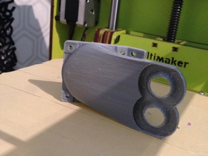 Dual Head Annular Fan Duct for Ultimaker