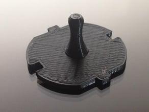 A dust cap for european mains outlets