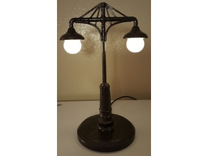 Antique Street Lamp (Lamp Series of 1-3)