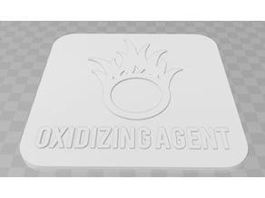 Oxidizing Agent signage