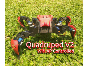 WIFI Quadruped V2 Crawling Robot