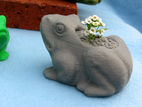 Frog Planter Experiments