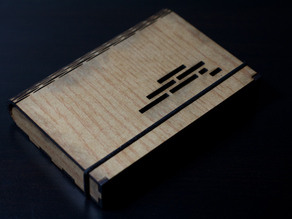 Flex Box - A wooden box with a living hinge