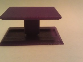 Micro T rc car stand (1/36)