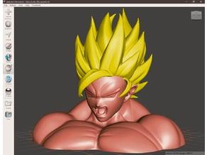 Goku busto