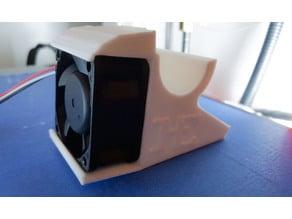 RoBo R1 e3d V6 fan duct 40mmX20mm