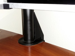 Cable Cover for Mount-It Monitor Stand