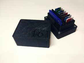 SD and MicroSD Card Holder