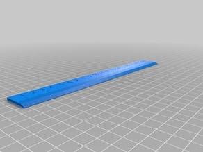 Ruler, metric 20 cm