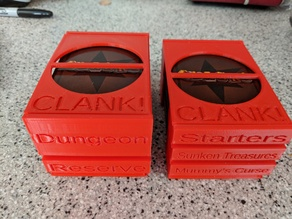 Clank: A Deck-Building Adventure Card Boxes