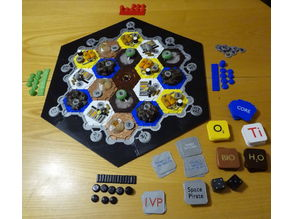 Settlers in Space - total printed version