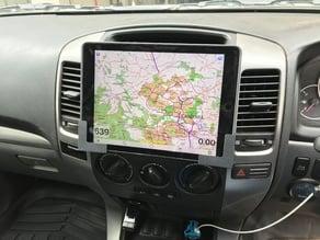 "iPad Pro (9.7"") car dash mounts - suit Toyota Landcruiser Prado 120"