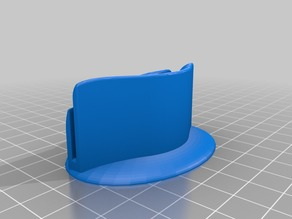 A4 paper holder stand with base