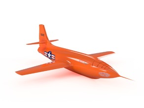Bell X-1 Experimental Aircraft Model (1/48 Scale)