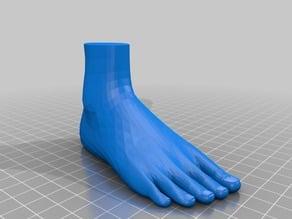 grosser Fuss  big Foot 22cm