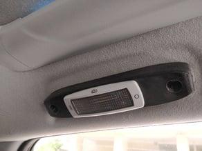 Mitsubishi ASX backseat lighting
