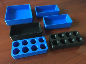 Toolbox Bins & ER20 Collet Inserts