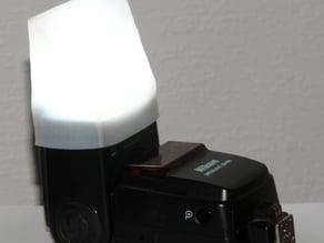 Nikon SB600 flash diffuser