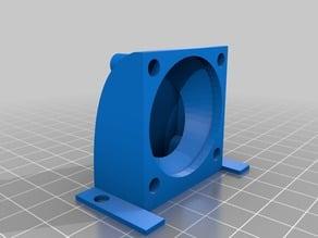 Filament cooling L-duct