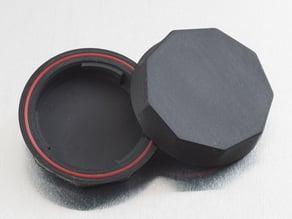Rear Lens Cap - NinjaFlex (for Pentax K-Mount)