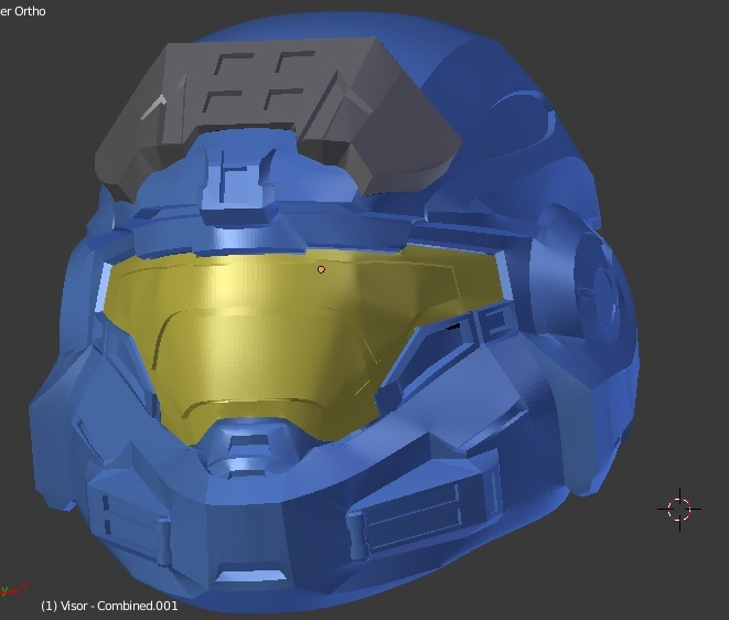 Halo Reach Noble 6 - Mark 5 B Style Helmet with Optional UA