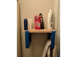 Shelf Bracket with optional towel hold