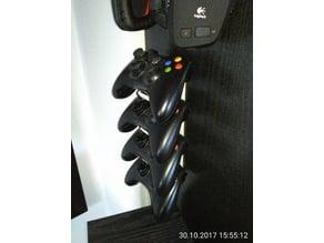 4x XBox 360 Controller Wallmount