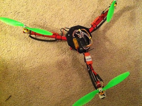 Tricopter (Snap-in Arms)